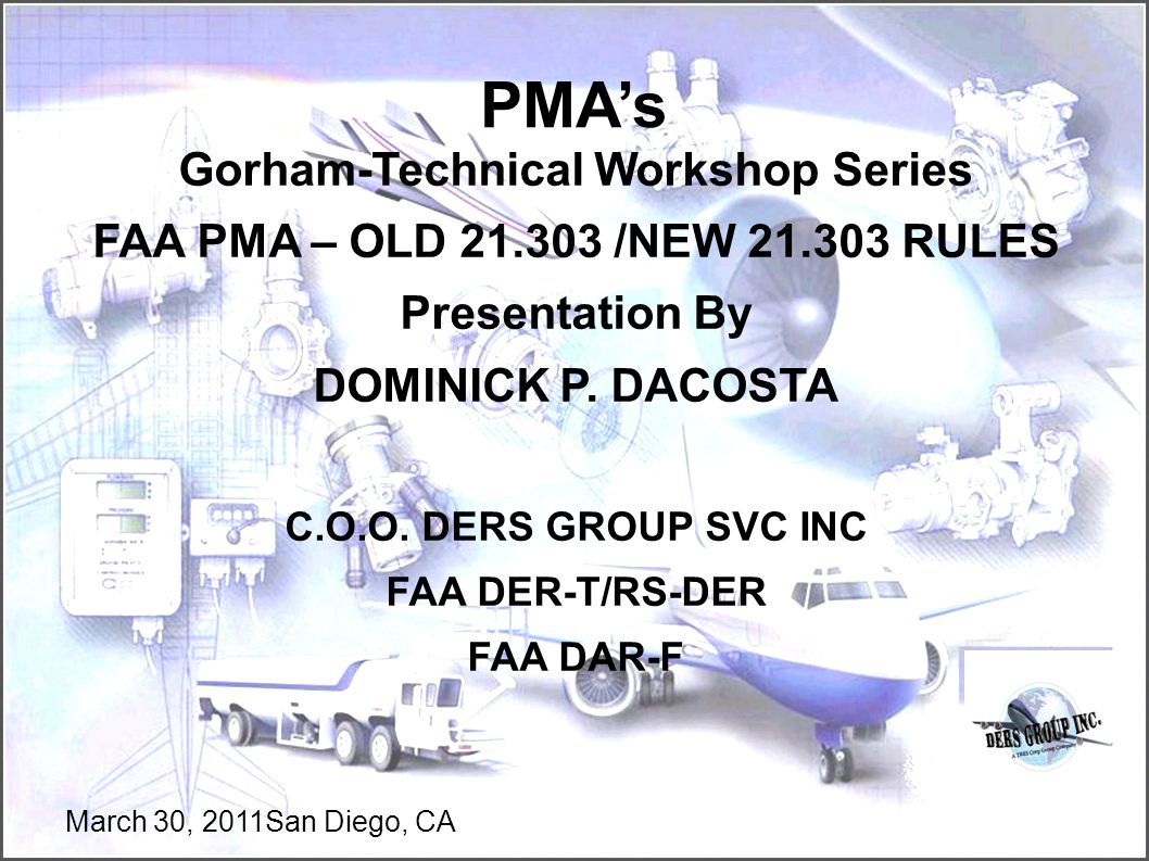 Gorham-Technical Workshop Series
