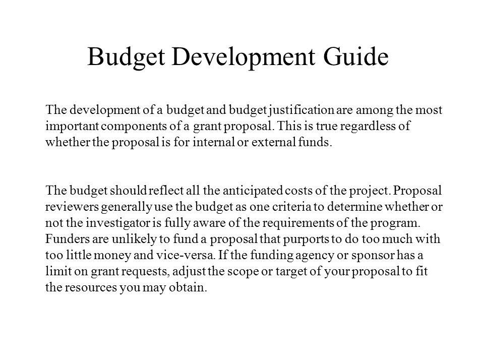 Budget Development Guide