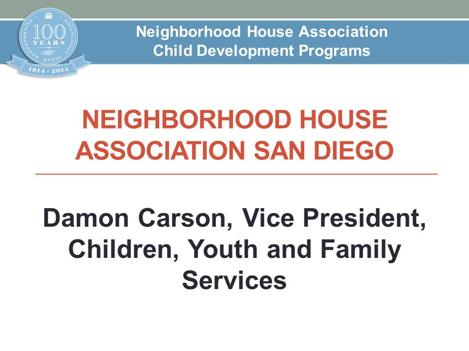 Neighborhood House Association San Diego