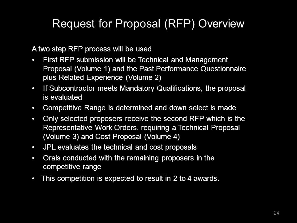 Request for Proposal (RFP) Overview