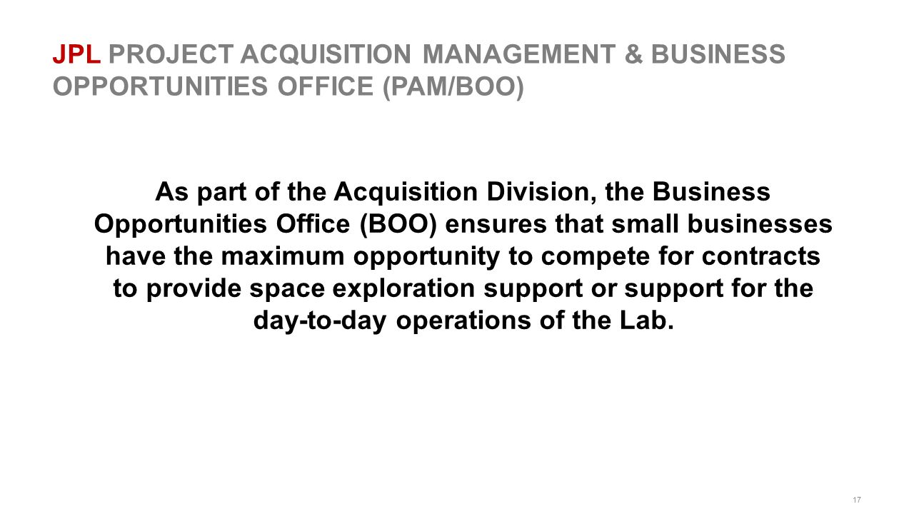 day-to-day operations of the Lab.