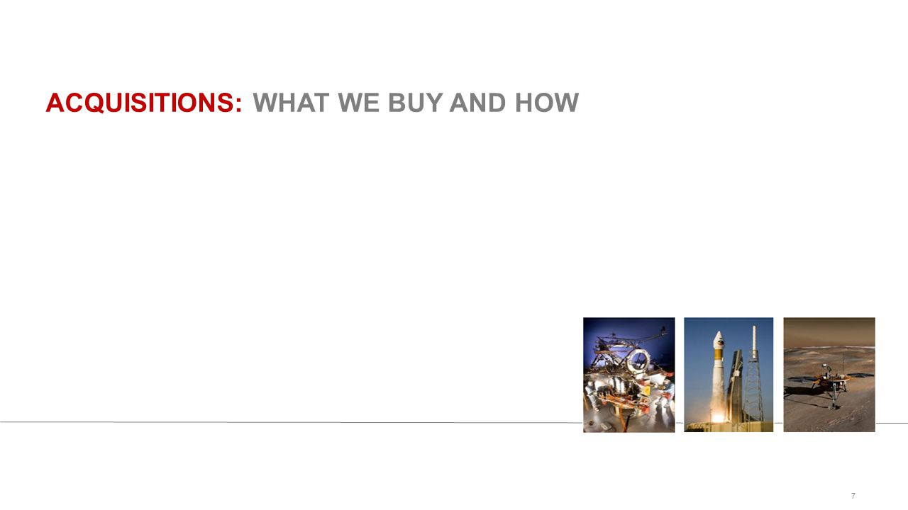 ACQUISITIONS: WHAT WE BUY AND HOW