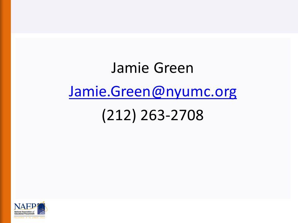 Jamie Green Jamie.Green@nyumc.org (212) 263-2708
