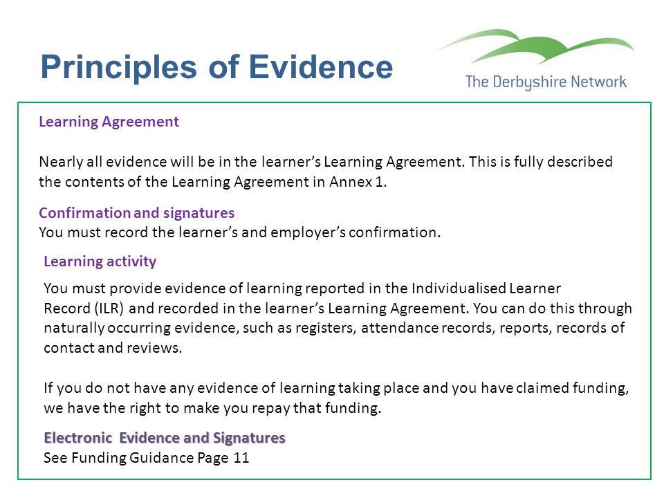 Principles of Evidence