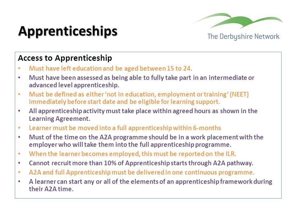 Apprenticeships Access to Apprenticeship