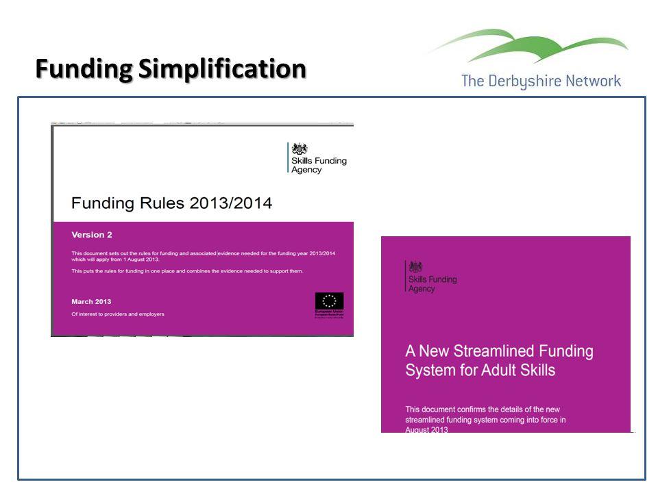 Funding Simplification