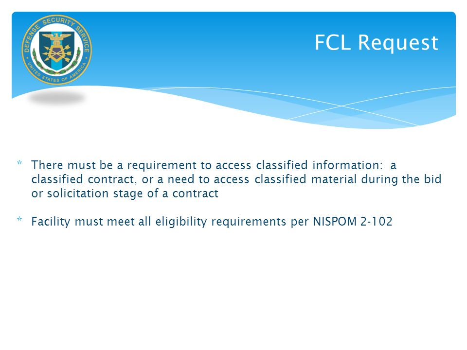 FCL Request