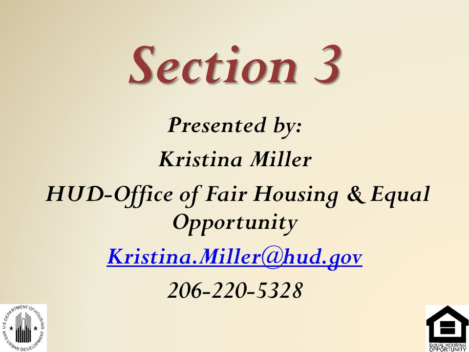 HUD-Office of Fair Housing & Equal Opportunity