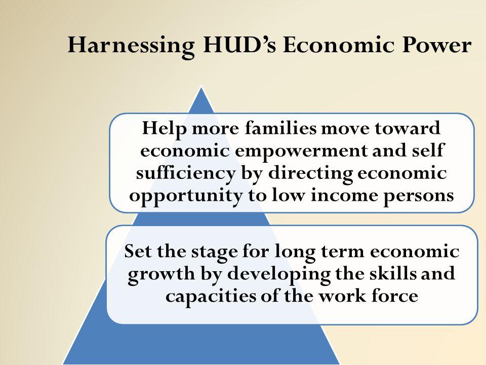 Harnessing HUD's Economic Power