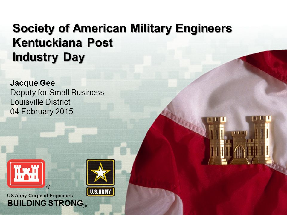 Society of American Military Engineers Kentuckiana Post Industry Day
