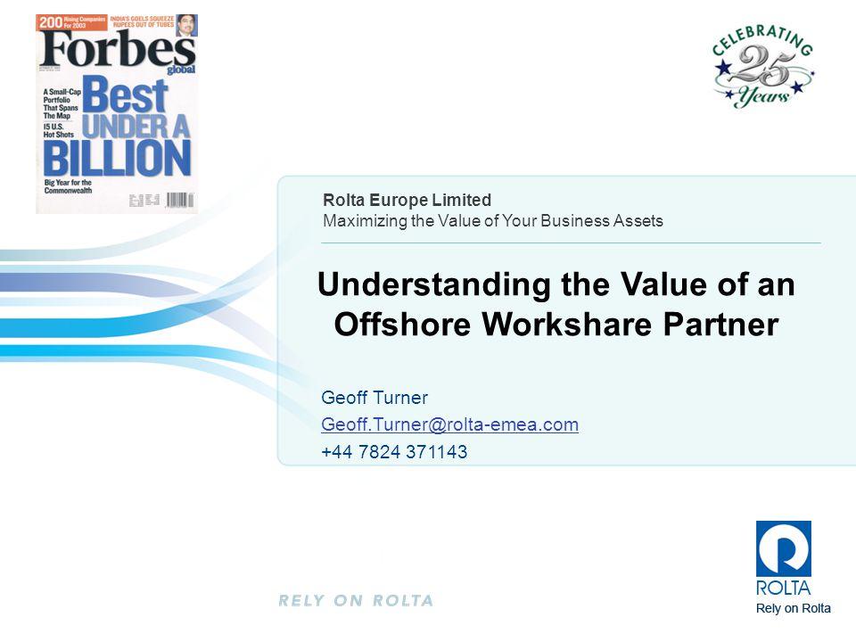 Understanding the Value of an Offshore Workshare Partner