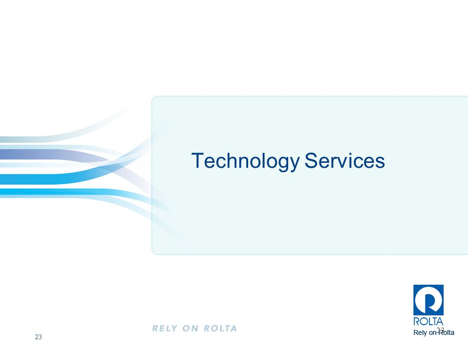 Technology Services 23