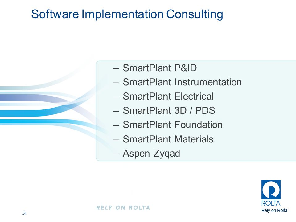 Software Implementation Consulting