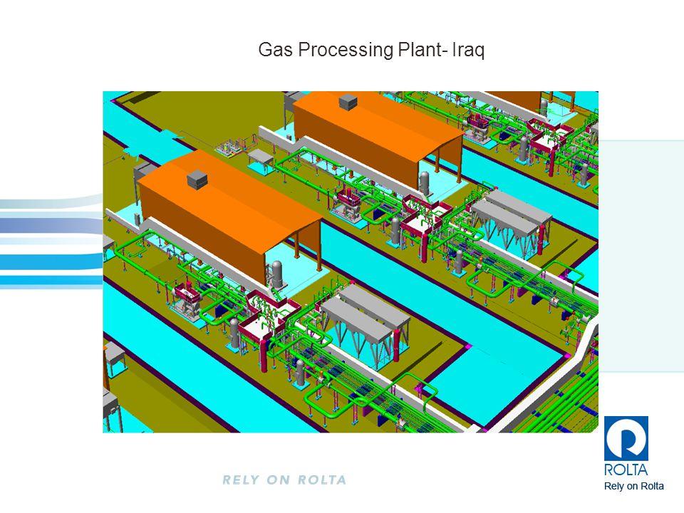 Gas Processing Plant- Iraq