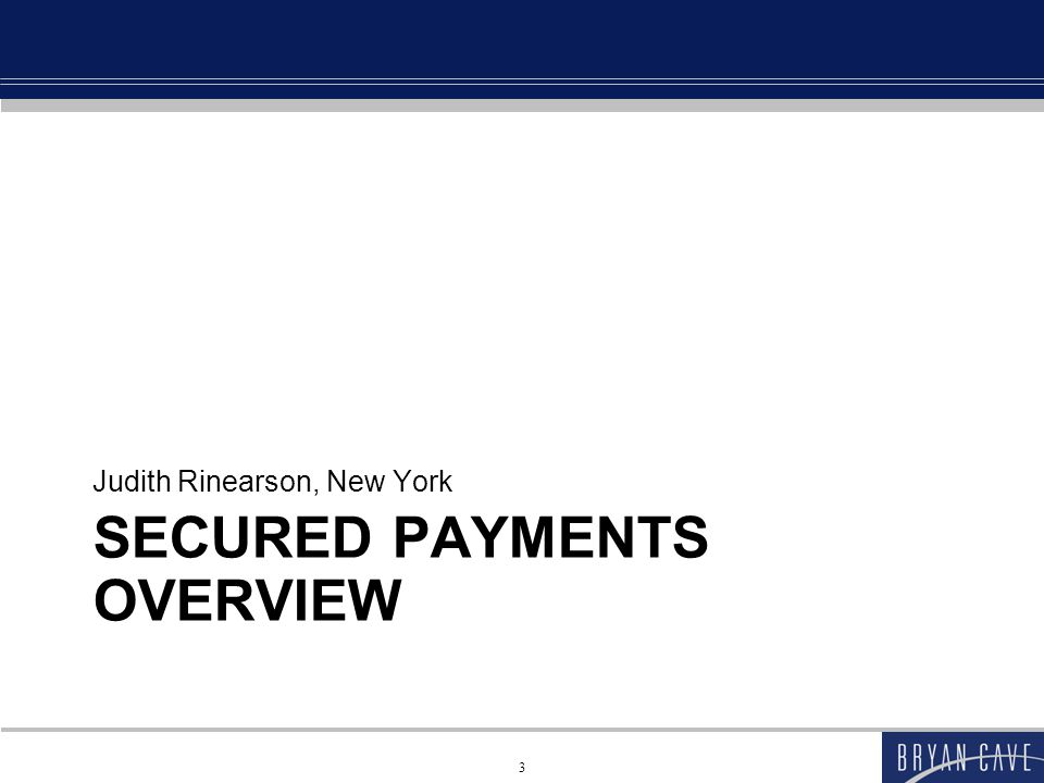 Secured Payments Overview