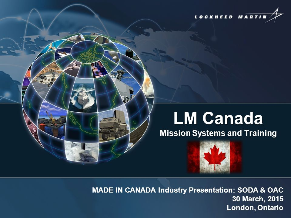 LM Canada Mission Systems and Training