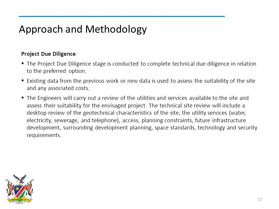 Approach and Methodology