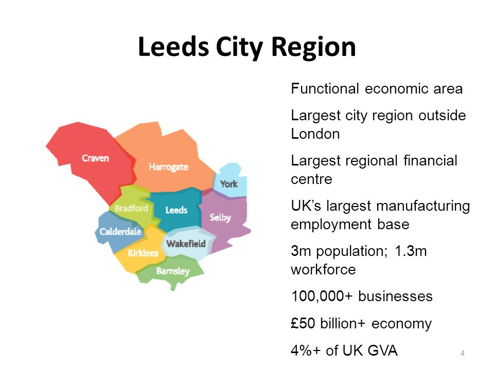 Leeds City Region Functional economic area