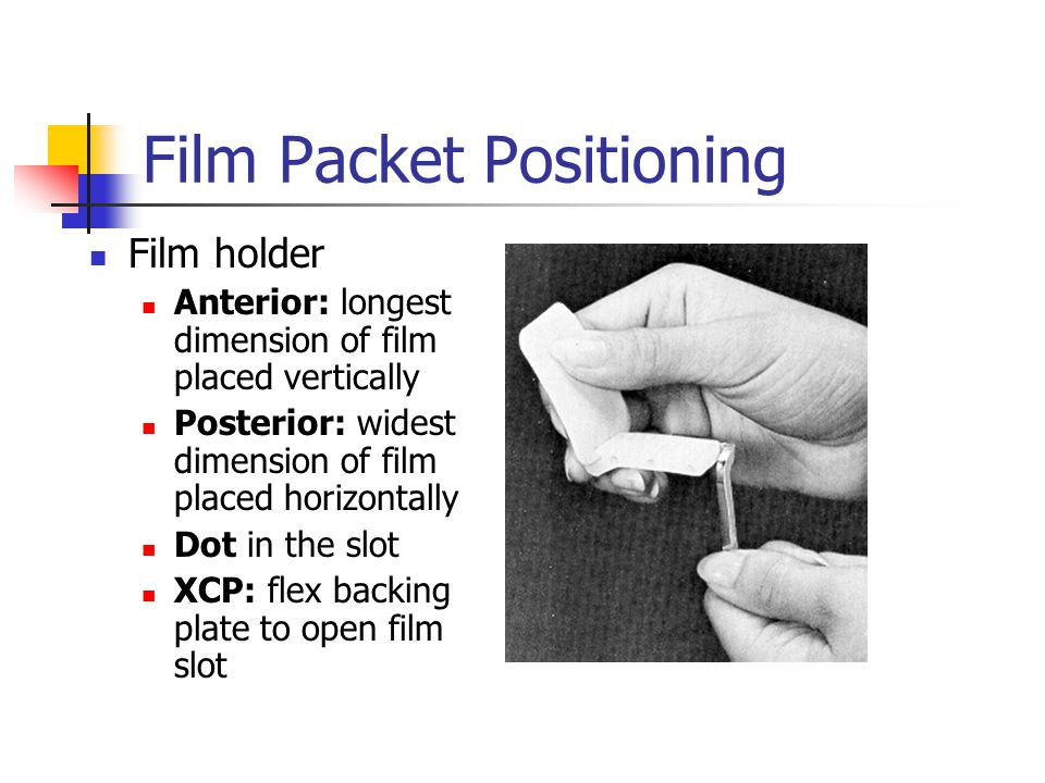Film Packet Positioning