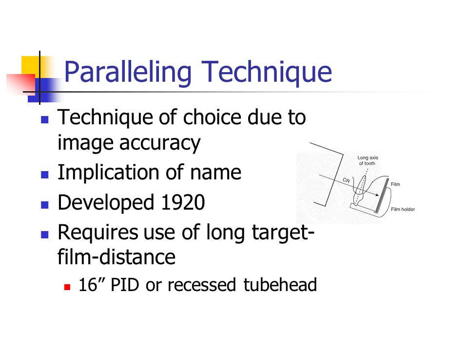 Paralleling Technique