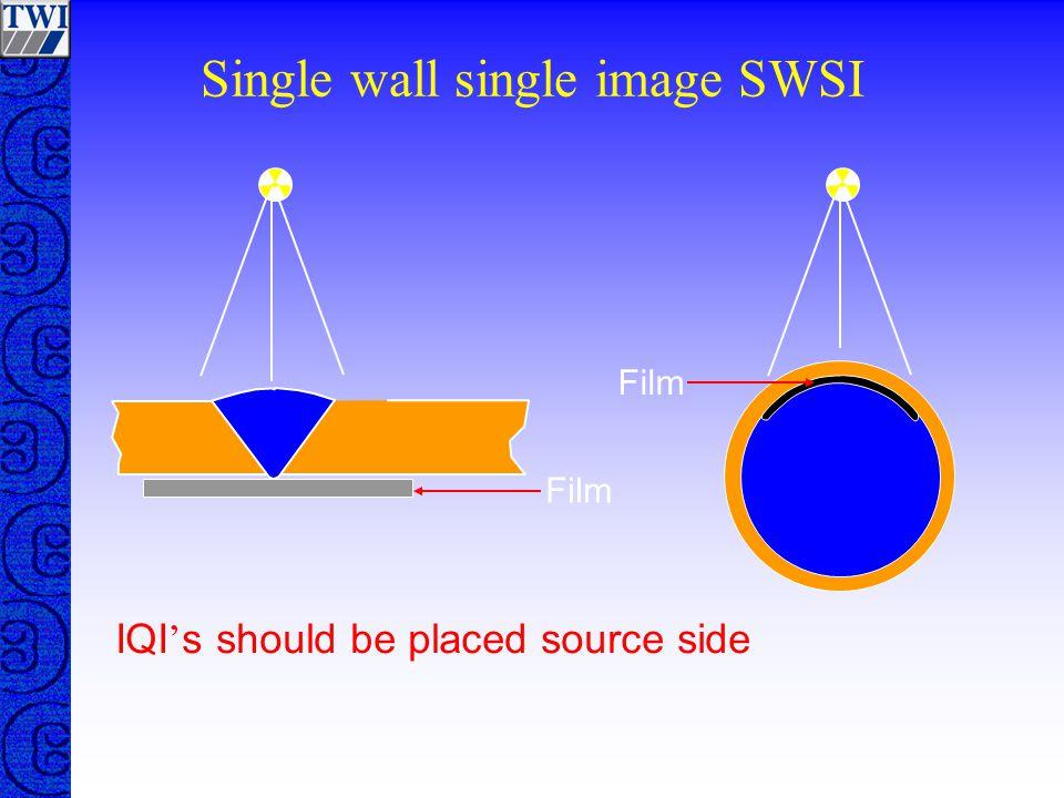 Single wall single image SWSI