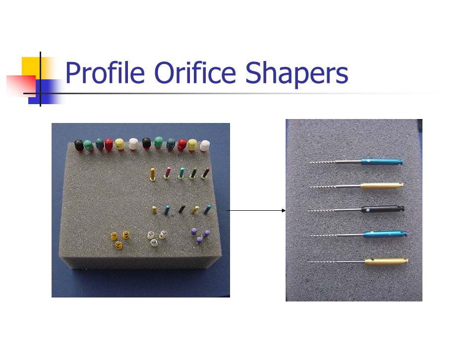 Profile Orifice Shapers