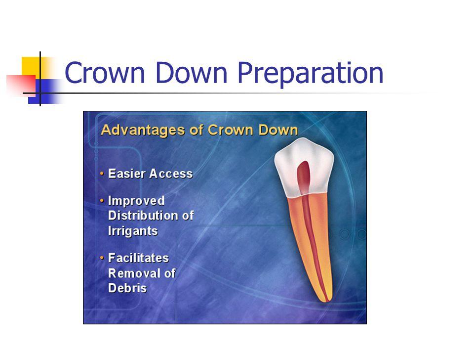 Crown Down Preparation