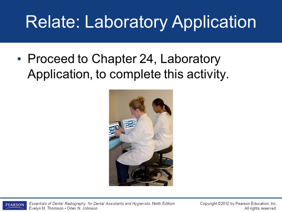 Relate: Laboratory Application
