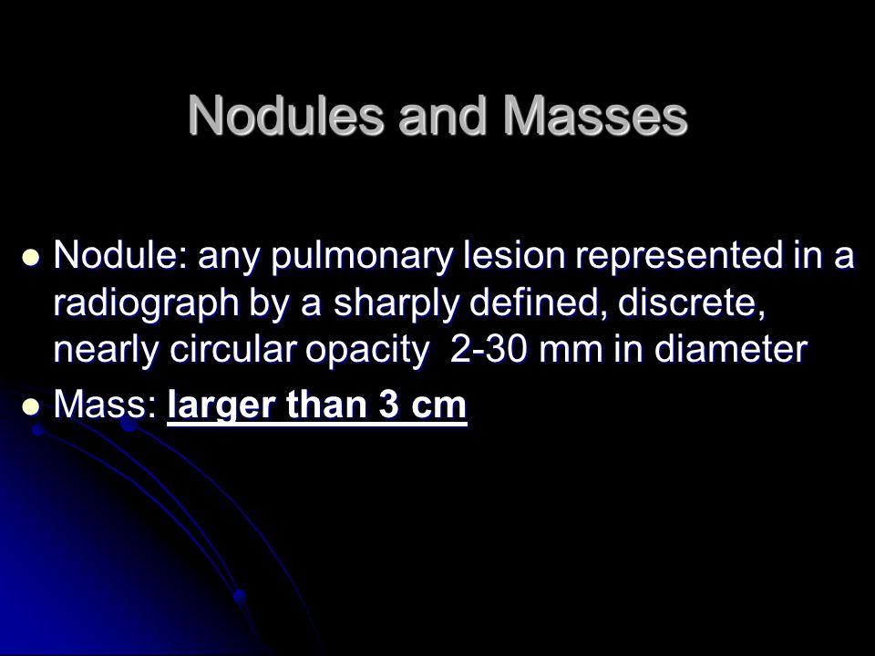 Nodules and Masses