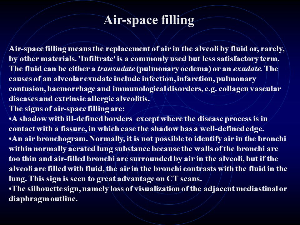 Air-space filling
