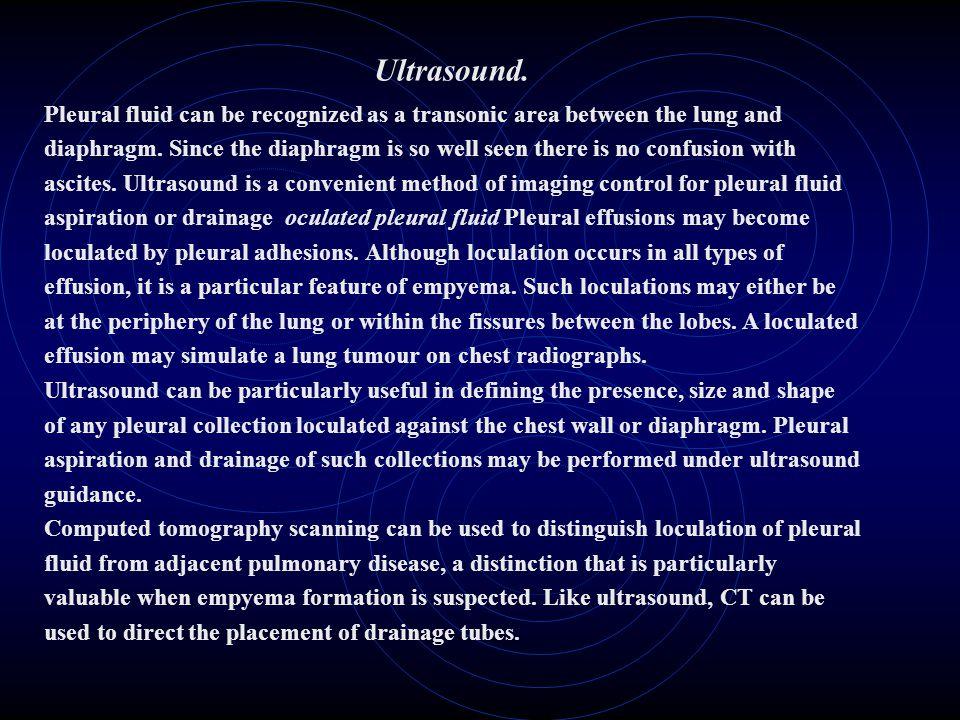 Ultrasound.