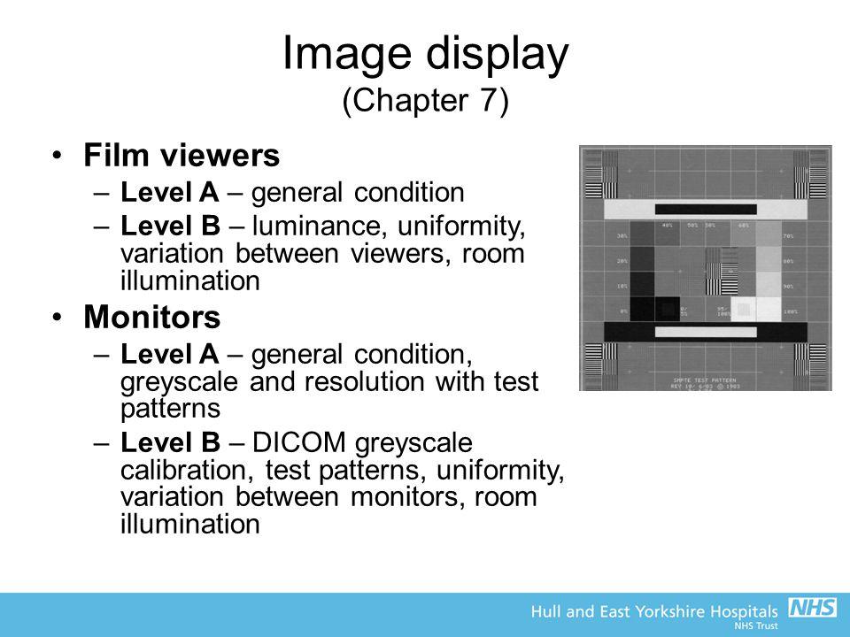 Image display (Chapter 7)