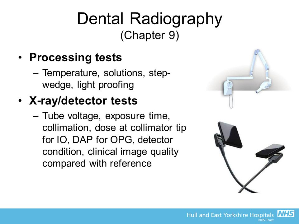 Dental Radiography (Chapter 9)