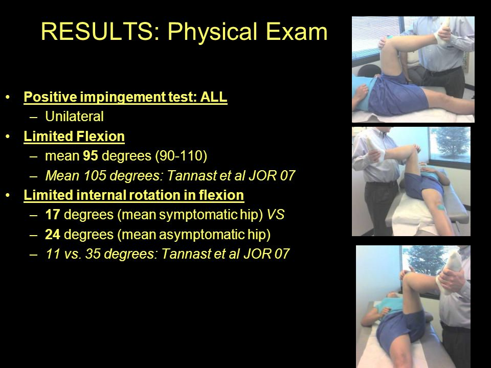 RESULTS: Physical Exam