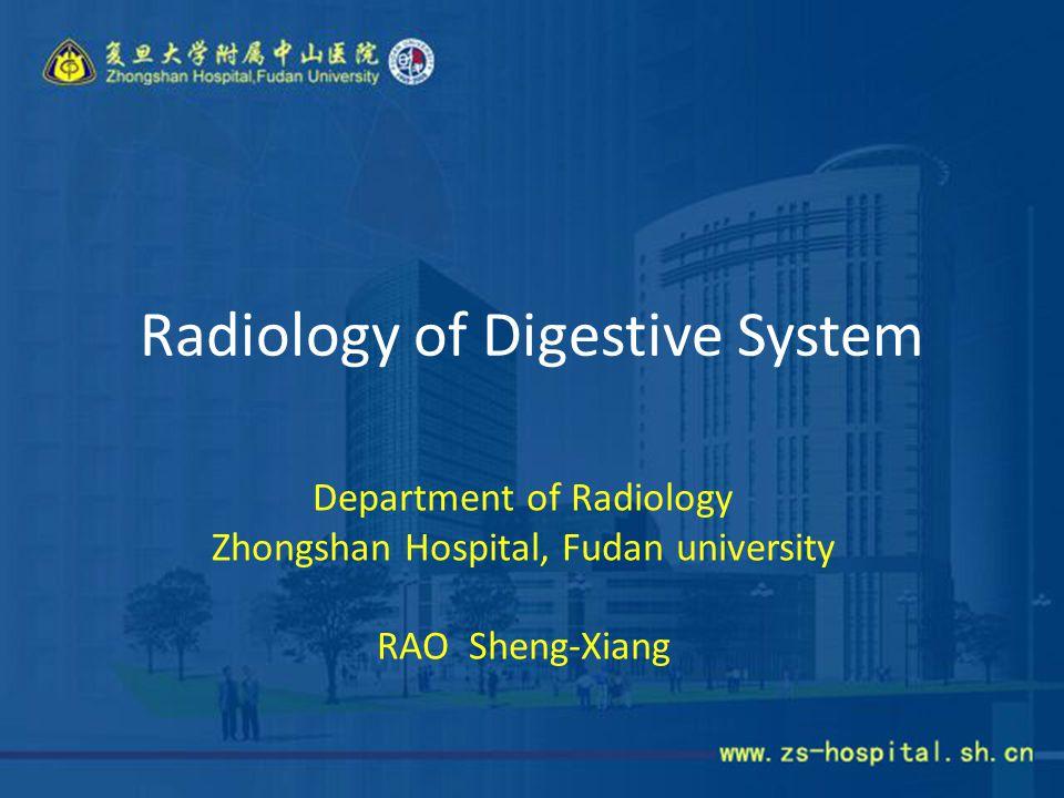 Radiology of Digestive System