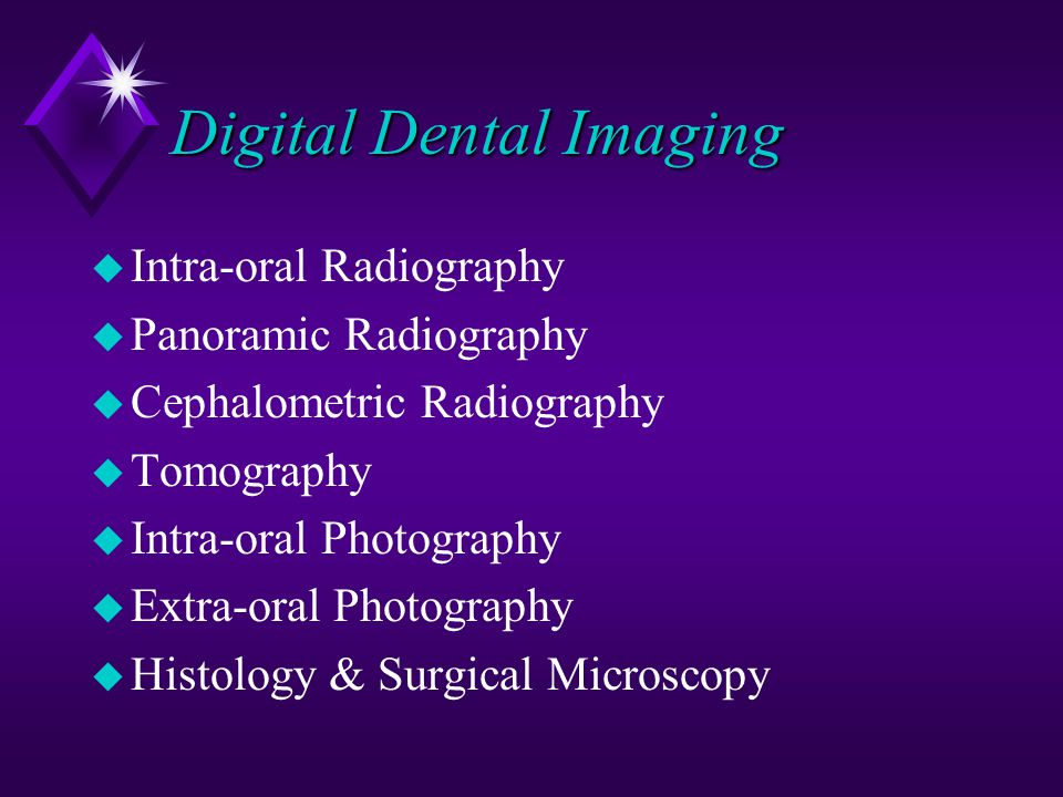 Digital Dental Imaging