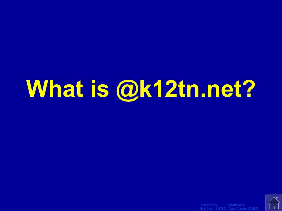 What is @k12tn.net Template by Modified by