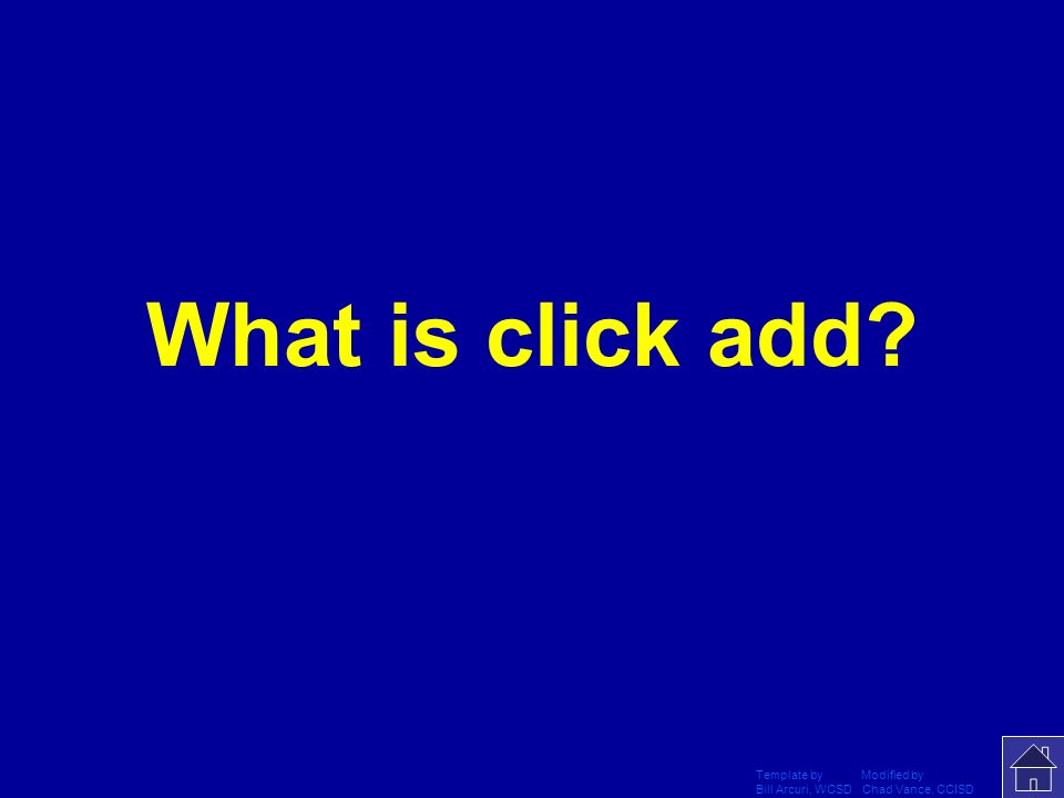 What is click add Template by Modified by