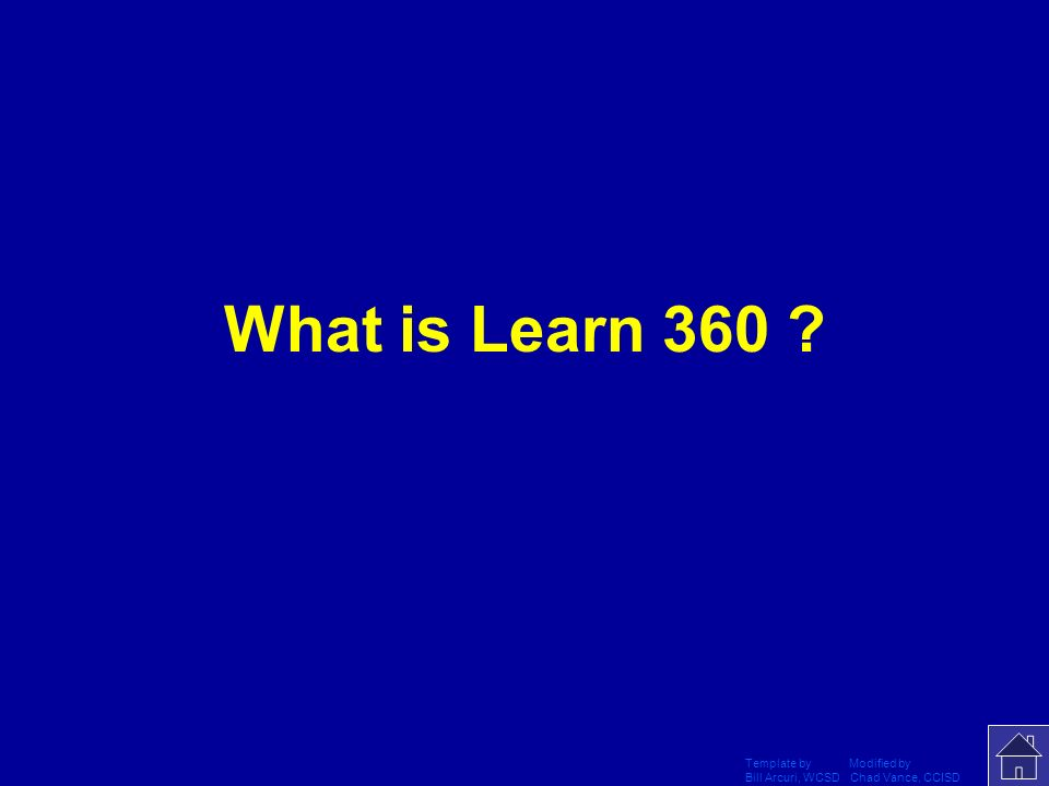 What is Learn 360 Template by Modified by