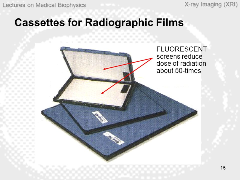 Cassettes for Radiographic Films