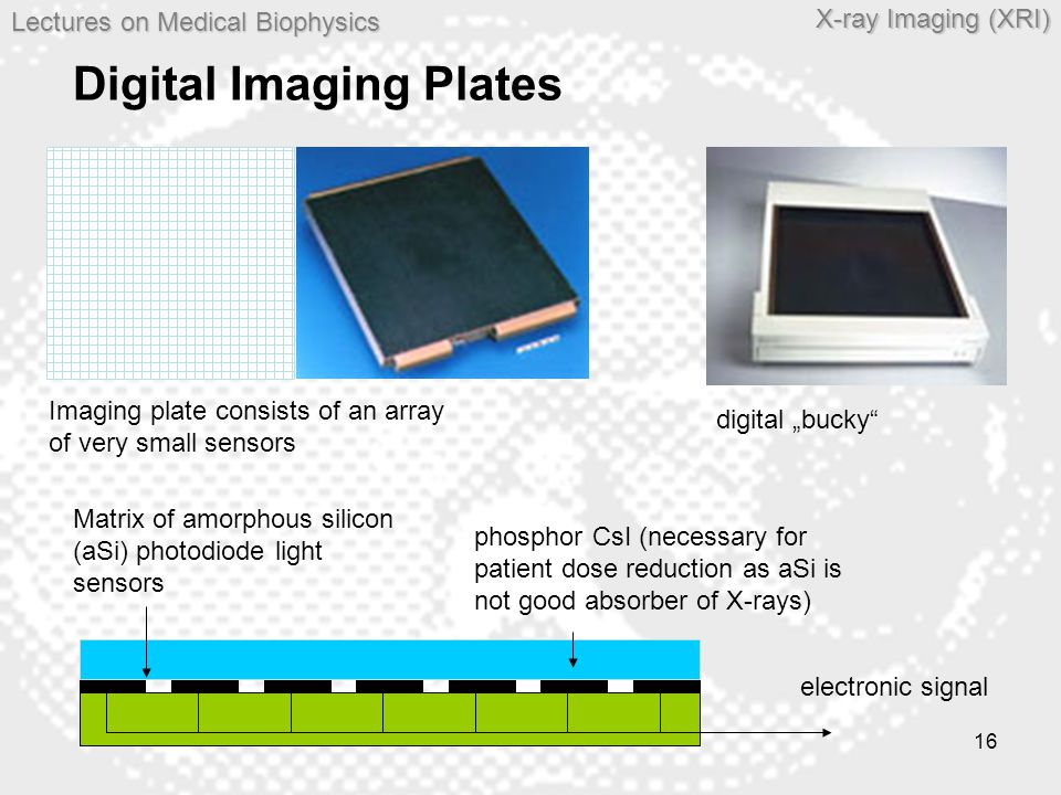Digital Imaging Plates