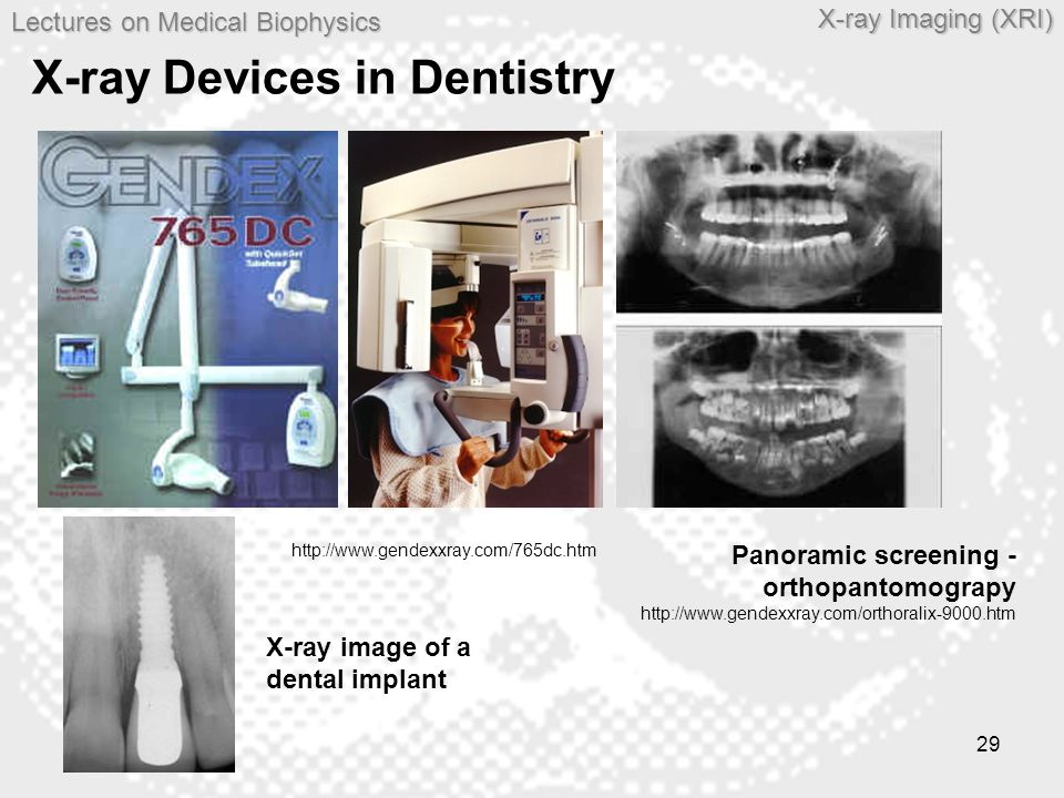 X-ray Devices in Dentistry