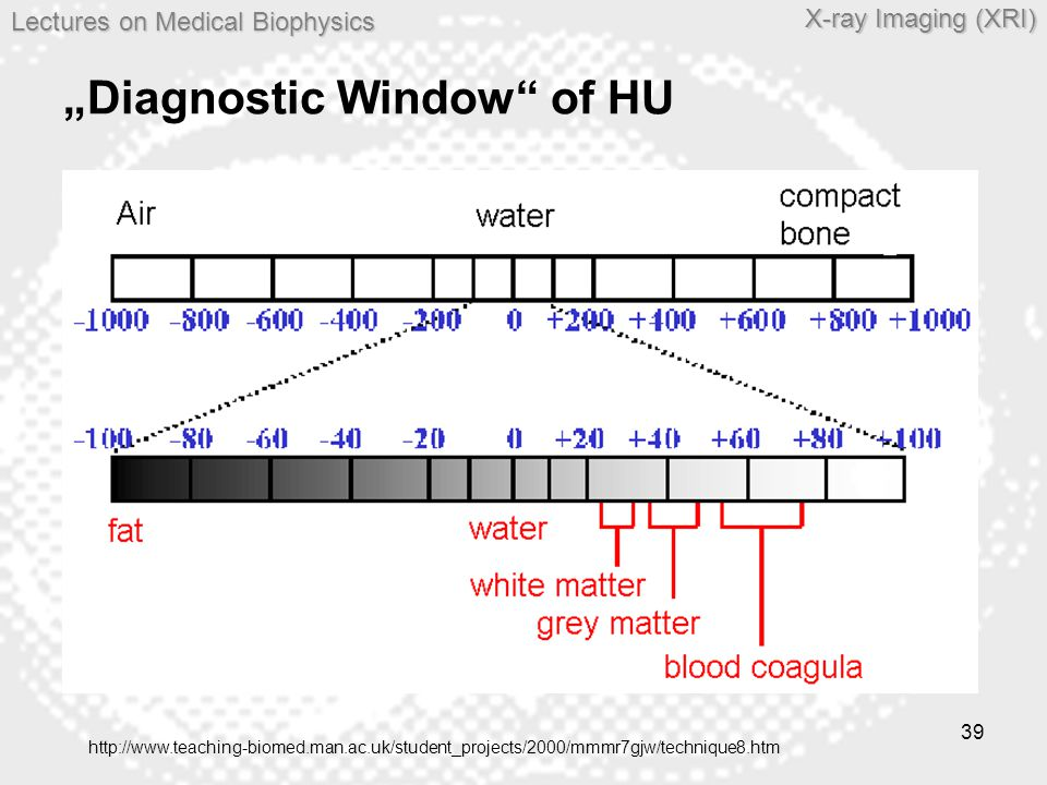 """Diagnostic Window of HU"