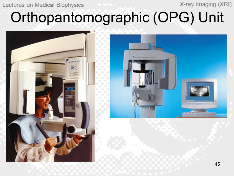 Orthopantomographic (OPG) Unit