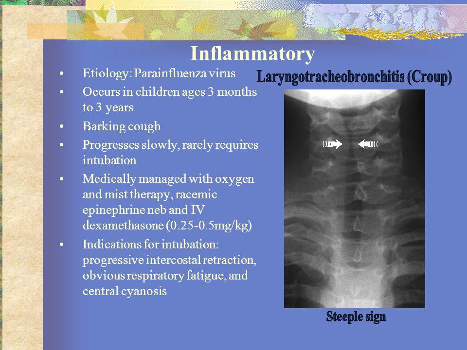 Laryngotracheobronchitis (Croup)