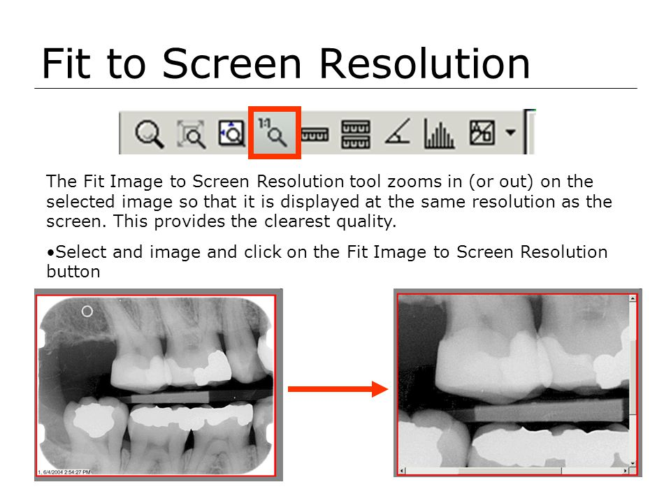 Fit to Screen Resolution