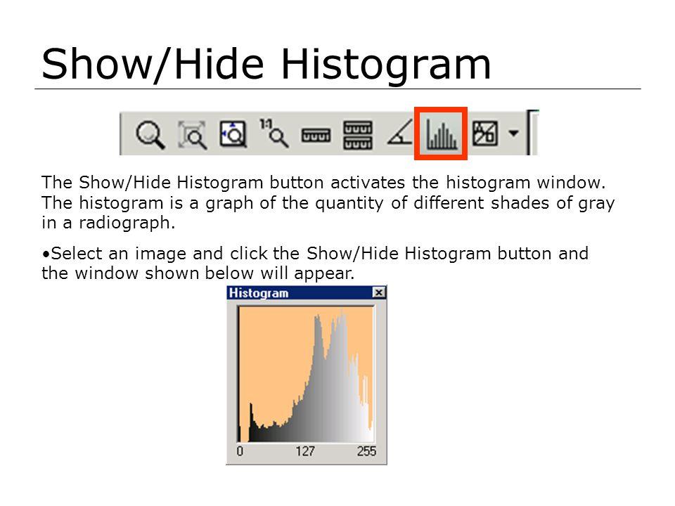 Show/Hide Histogram