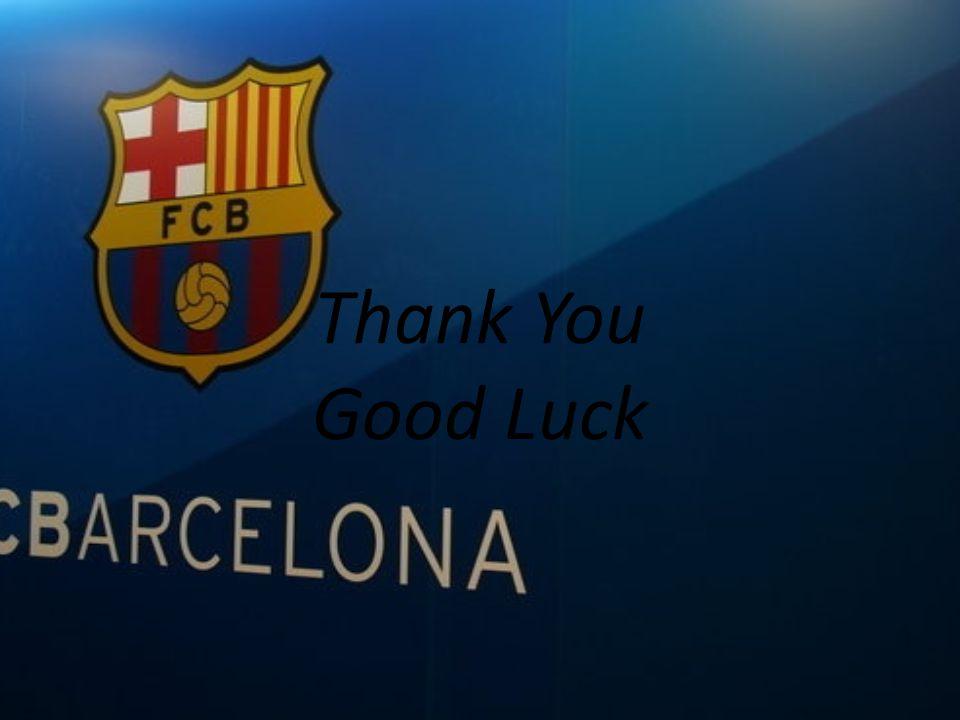 Thank You Good Luck