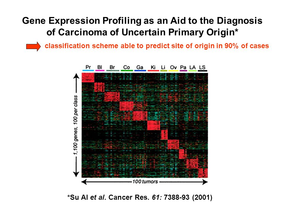 Gene Expression Profiling as an Aid to the Diagnosis