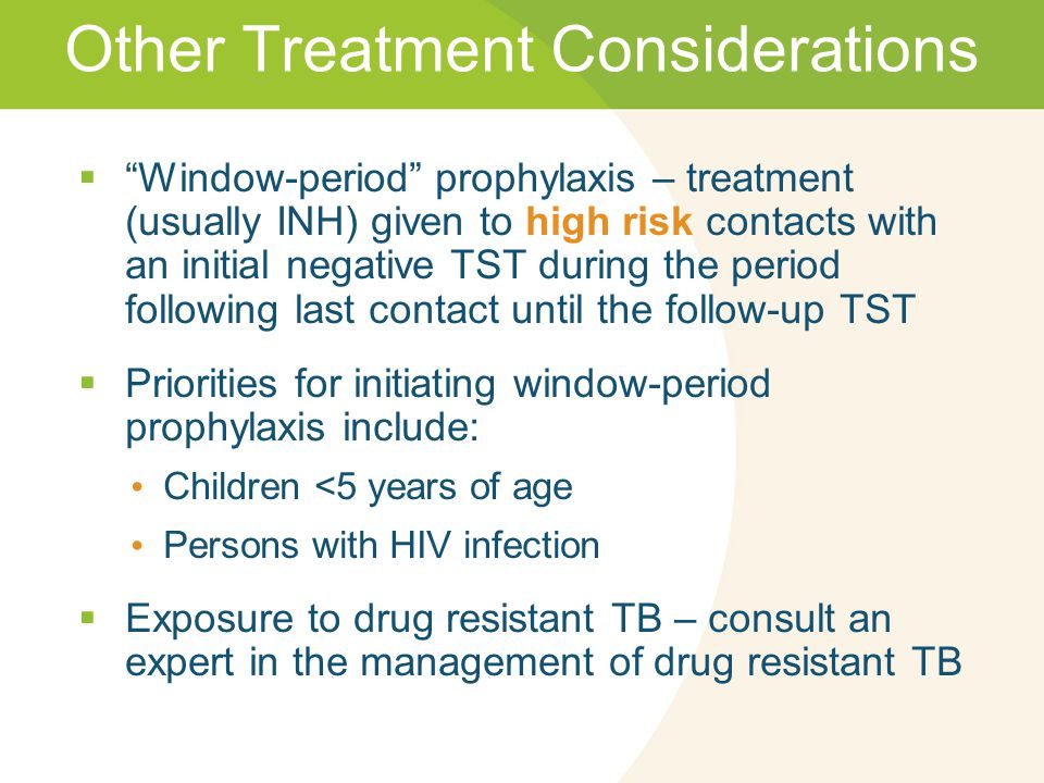 Other Treatment Considerations